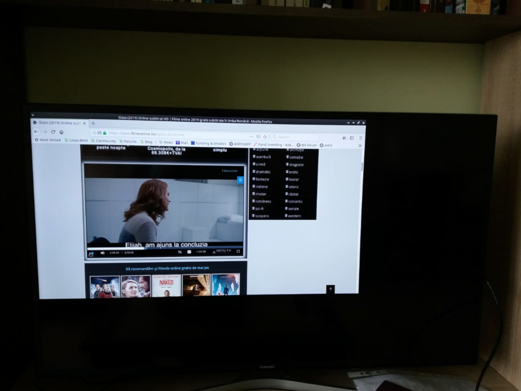Movies in full-screen exceed TV screen area - Page 2 - MX Linux Forum